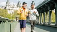 Laufen in Paris