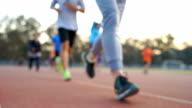 Ausgeführt, Joggen oder Fuß für gesunde