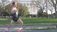 Running Race in progress in DC