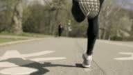 Running Tread Closeup