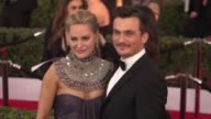 Rupert Friend Aimee Mullins at 22nd Annual Screen Actors Guild Awards Arrivals in Los Angeles CA
