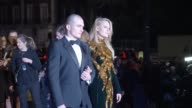 Rupert Friend Aimee Mullins at Alexander McQueen Savage Beauty Fashion Gala At The VA Presented By American Express And Kering at Victoria and Albert...