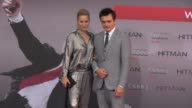 Rupert Friend and Aimee Mullins attend the Hitman Agent 47 World Premiere