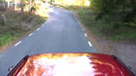 HD Rural Driving Time Lapse