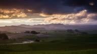 TIME LAPSE: Rural Landscape Dramatic Sky