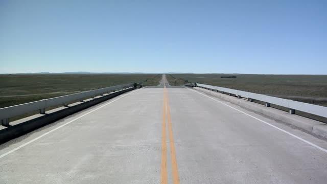 WS Rural road in South Dakota, USA