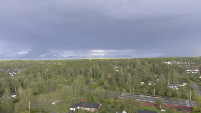 Rural Town Aerial