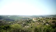 WS PAN SLO MO rural township landscape in/ KwaZulu-Natal/ South Africa