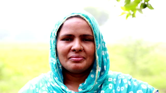 Rural Women Portrait