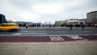 Rush Hour London Bridge, time lapse