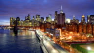 Rush Hour auf dem FDR Drive in New York