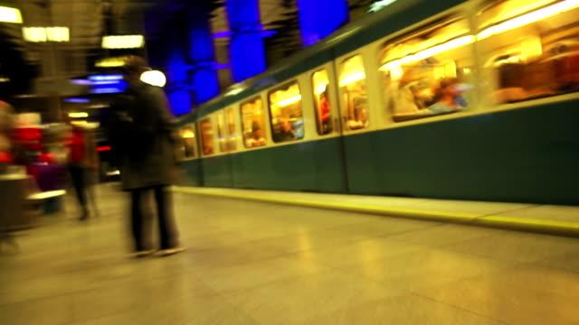 Rushing Through Subway Station TL POV