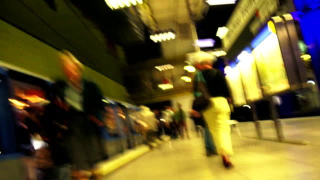 Rushing Through Subway TL POV