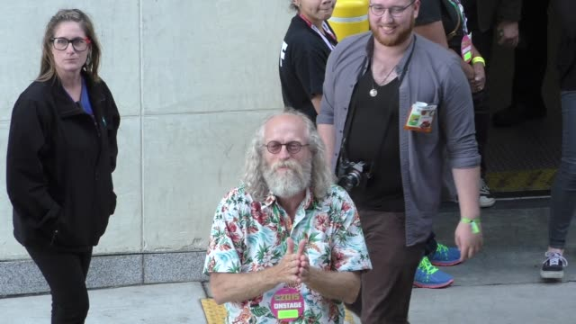 Russell Hodgkinson at ComicCon Celebrity Sightings on July 11 2015 in San Diego California