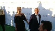 Russell Simmons and Kennedy Summers at the 27th Annual Environmental Media Association Awards at Barker Hangar on September 23 2017 in Santa Monica...