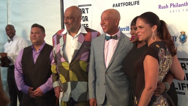 CLEAN Russell Simmons RUSH Philanthropic Arts Foundation's 2016 ART FOR LIFE Benefit at Fairview Farms on July 16 2016 in Bridgehampton New York