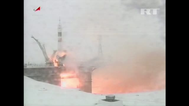 Russia on Monday successfully launched three astronauts for the International Space Station boosting morale after accidents raised doubt about the...