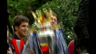 Russian billionaire to buy controlling stake in Evening Standard TX London Abramovich holding up Premier League trophy on open top bus