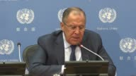 Russian Foreign Minister Sergei Lavrov describes the rhetoric between leaders of the United States and North Korea as a kindergarden fight between...