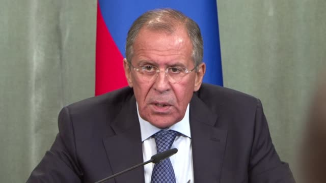 Russian Foreign Minister Sergei Lavrov on Monday warned that talks by Britain France and the United States on a tough United Nations resolution on...