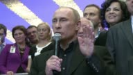Russian leader Vladimir Putin Sunday reclaimed the Kremlin in a crushing presidential election victory that he declared was honest but the opposition...