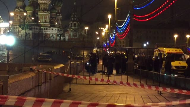 Russian opposition leader Boris Nemtsov a fierce critic of President Boris Yeltsin was shot dead in central Moscow late Friday ahead of a major...