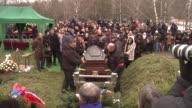 Russian opposition leader was assassinated gunned down Friday February 27 in sight of the KremlinNemtsov's final resting place is at Troyekurovskoye...