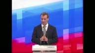 Russian President Dmitry Medvedev Wednesday refused to say if he would seek reelection in 2012 glossing over recent differences with Vladimir Putin...