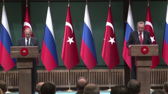 Russian President Vladimir Putin and Turkish counterpart Recep Tayyip Erdogan agree to push for the creation of a de escalation zone in Syria's key...