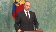 Russian President Vladimir Putin on Monday accused Ankara of shooting down a Russian warplane to protect supplies of oil from the Islamic State group...