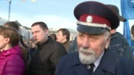 Russian President Vladimir Putin triumphantly joins tens of thousands of supporters to mark one year since his takeover of Crimea a seismic shift...