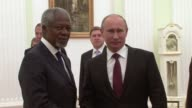 Russian President Vladimir Putin vowed Tuesday to 'do everything' to support Kofi Annan's tattered peace plan for Syria as he hosted the envoy amid...