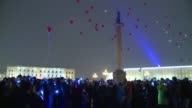 Russians held a memorial commemoration on Sunday night in St Petersburg for the 224 people who died onboard the passenger Metrojet plane that crashed...