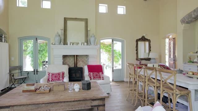 Rustic domestic kitchen