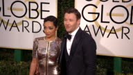 Ruth Negga and Joel Edgerton at the 74th Annual Golden Globe Awards Arrivals at The Beverly Hilton Hotel on January 08 2017 in Beverly Hills...