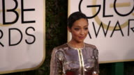 Ruth Negga at the 74th Annual Golden Globe Awards Arrivals at The Beverly Hilton Hotel on January 08 2017 in Beverly Hills California 4K