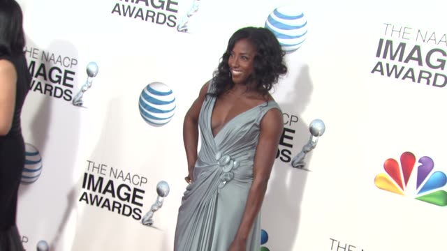 Rutina Wesley at 44th NAACP Image Awards Arrivals on 2/1/13 in Los Angeles CA