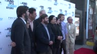 Ryan Fleck Anna Boden Andrew Karpen Zach Galifianakis Jim Gaffigan Adrian Martinez Emma Roberts and Thomas Mann and CEO James Schamus at the 'It's...