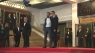 Ryan Gosling and Nicolas Winding Refn at the 'Drive' Red Carpet Arrivals 64th Cannes Film Festival at Cannes