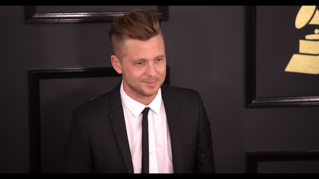 Ryan Tedder at the 59th Annual Grammy Awards Arrivals at Staples Center on February 12 2017 in Los Angeles California 4K