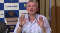 Ryanair boss Michael O'Leary warns that airlines and other holiday companies will cancel flights if 'there isn't a clear agreement between the UK...