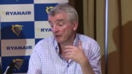 Ryanair boss Michael O'Leary warns that airlines like his will have to cancel flights or take them of sale for the summer of 2019 if a deal is not...