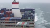 SA's Benjamin Franklin container ship breaks waves as the vessel sails from Xiamen to Guangzhou China on Sunday Jan 31 2016