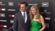 AMC's Mad Men Season Five Special Premiere Screening Hollywood CA United States 3/14/12