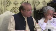 Sacked Pakistani Prime Minister Nawaz Sharif appeared before an anti corruption court Tuesday vowing to fight the allegations as proceedings began in...