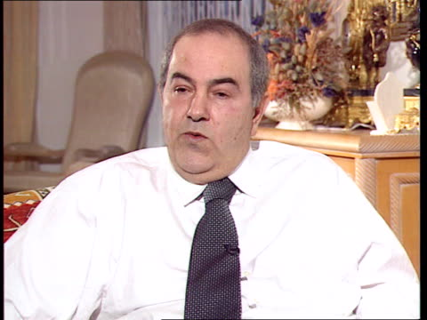 Profile ITN ENGLAND London Int Dr Ayad Alawi intvw He is psychopath/ had his two soninlaws murdered after he himself gave them amnesty Alawi Andrews...