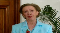 Saddam Hussein sentenced to death by hanging ENGLAND London INT Margaret Beckett MP interview SOT During the regime of Saddam Hussein appalling...