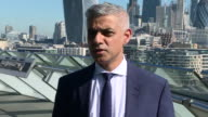 Sadiq Khan confirming there will be advanced security around mosques in London after the Finsbury Park terror attack