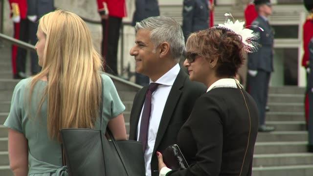 Sadiq Khan on June 10 2016 in London England