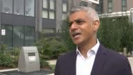 Sadiq Khan outlines new housing plans Sadiq Khan interview SOT re housing